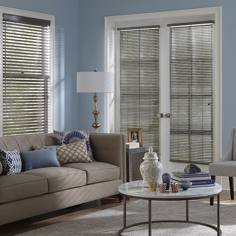 wood blinds for french door & 10 Things You MUST Know When Buying Blinds For Doors - The Finishing ...