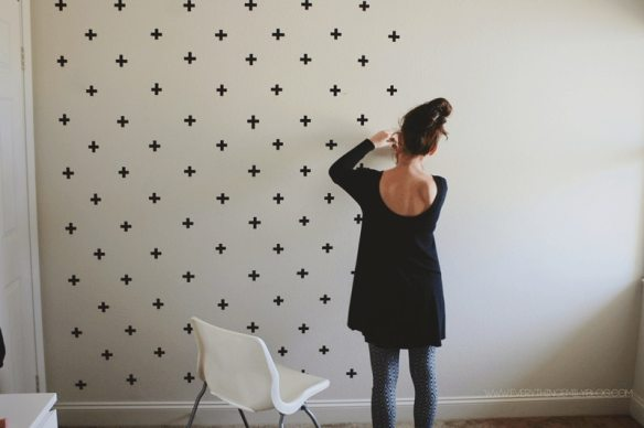 DIY Washi Tape Wall