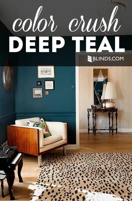 Color Crush: Deep Teal