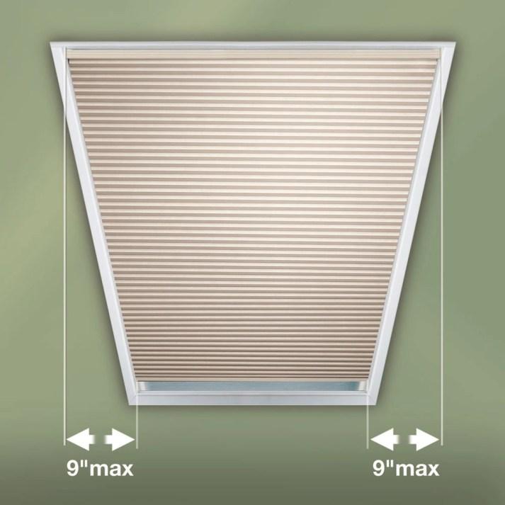 Trapezoid window shades