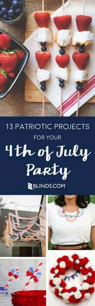 13 patriotic projects for your 4th of july party