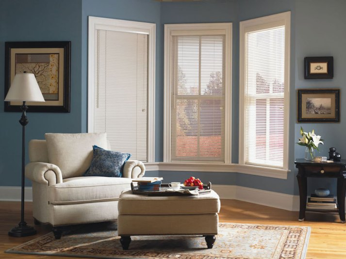 bow window blinds window dressing 1u2033 faux wood blinds the ultimate guide to for bay windows finishing touch