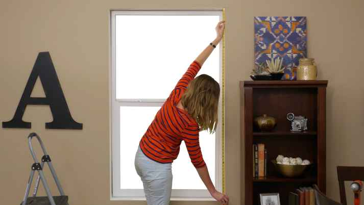 how to measure for inside mount blinds