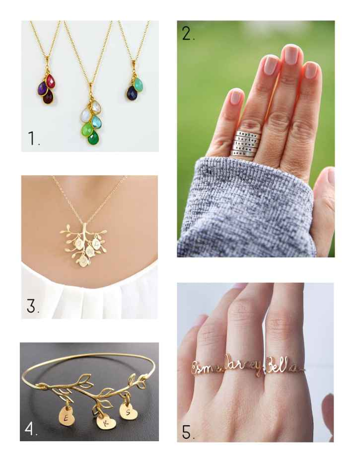 Mother's Day Gift Ideas Jewelry