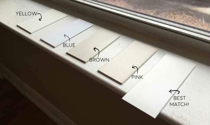how to match blinds to trim