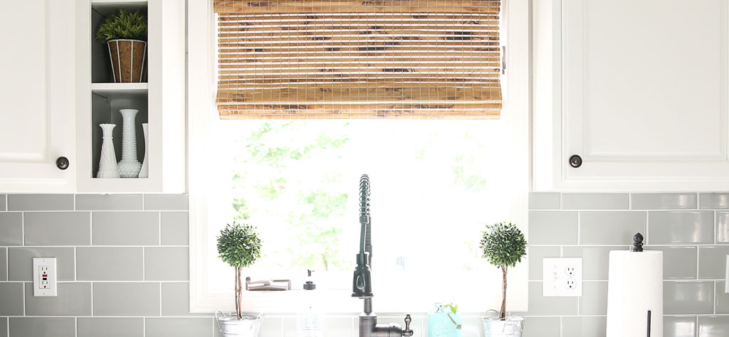 kitchen shades table rug give a modern farmhouse texture with woven wood gets dose of