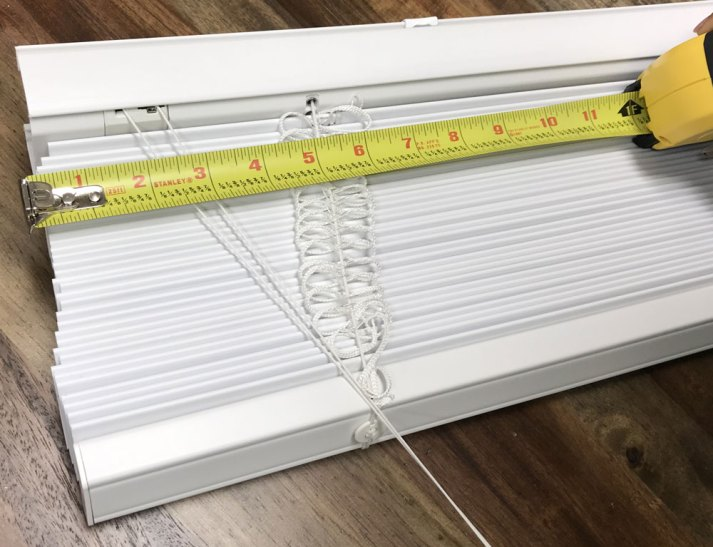 wrong way to measure for blinds