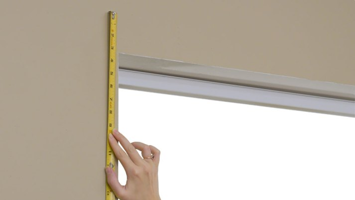 how to measure window for custom blinds