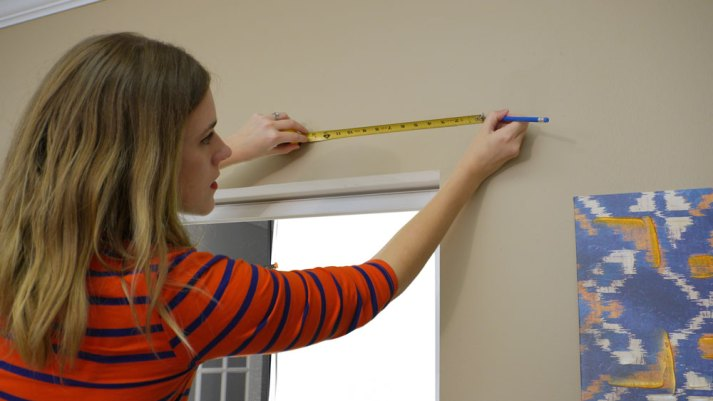 how to measure for outside mount blinds