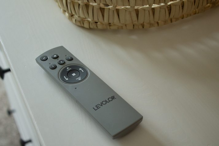 remote control for levolor roller shades from Blinds.com