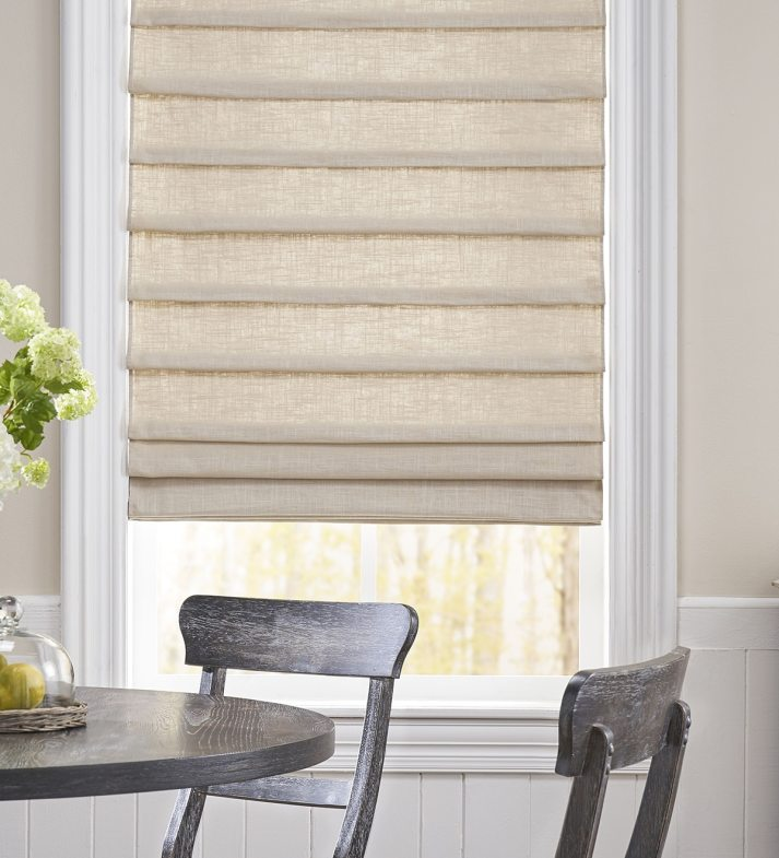 19 Times Linen Roman Shades Looked Effortlessly Cool The