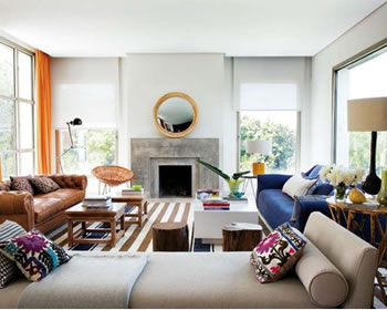The living room is one of the most important areas in your house for a great hosting experience. Mismatched Furniture