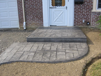 shopping list for diy stamped concrete