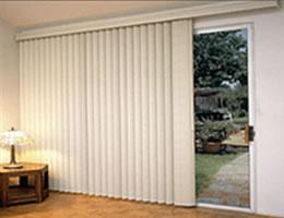 vertical door blinds panel track