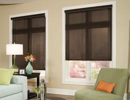 Solar Window Screens  Window Roller Shades  Blinds Chalet