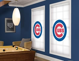 Officially Licensed MLB Chicago Cubs Window Blinds