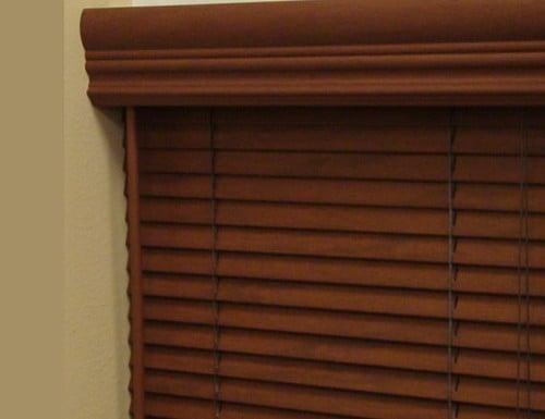 aspen 1 faux wood blinds