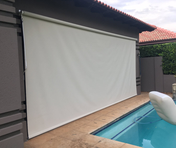exterior roll up blinds outdoor