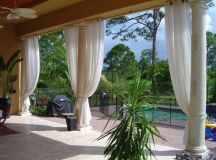 Outdoor Curtains Project | Miami, FL