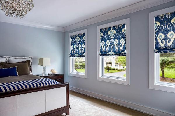 Window Blinds Roman Shades