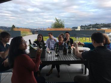 Blind Tasting Buddies, Champagne Rooftop, July 2018, by Medium Plus (1)
