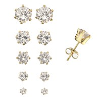 The gallery for --> Diamond Stud Earrings Size