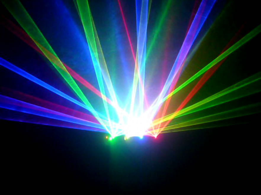 Forest DMX512 Green Yellow Blue Red four colors lazer