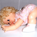 Upsy Baby by Kenner, partially standing