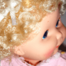 Upsy Baby by Kenner, hair bow