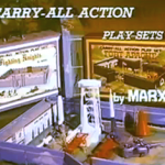 Marx Carry-All Action Play Set TV Ad