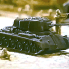 Marx Carry-All Action Play Set - Tank