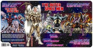 Colorforms Outer Space Men graphic novel