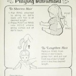 Ideal's Baby Crissy instructions