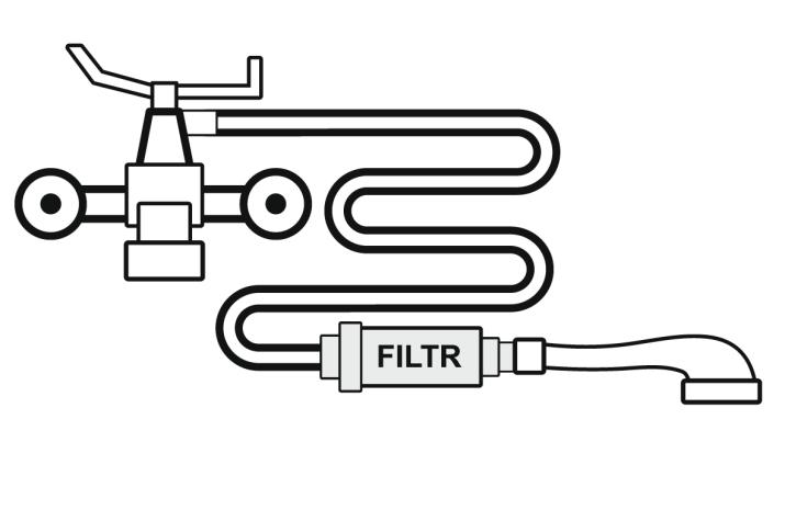 Filtr prysznicowy - montaz 1