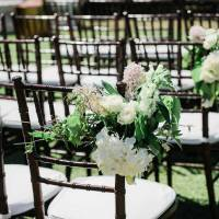 Tiffany Chair Walnut - Bliss & Willow | Wedding Styling