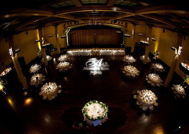 Gobo Monogram Projection  Personalize your Wedding or