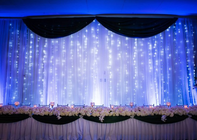 Drape Backdrop  Bliss Entertainment Event Group  Event