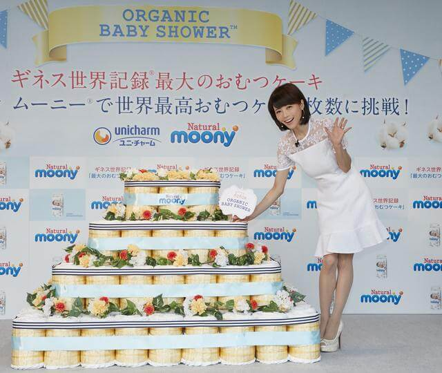 日本巨型紙尿褲蛋糕