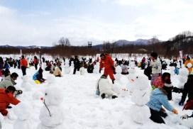 赤平市雪人挑戰
