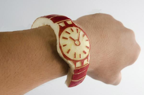 名符其實的蘋果手錶