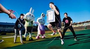 跳繩-五項世界紀錄