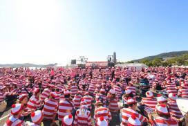 《Where's Wally?》日本最多Wally集合的世界紀錄!