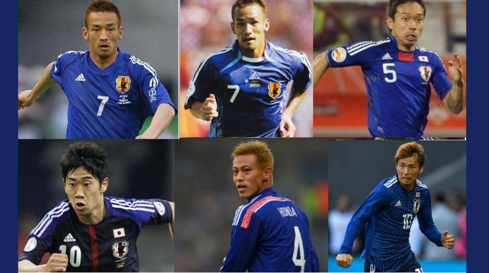【球迷必看】日本國家足球隊歷代球衣設計總整理!