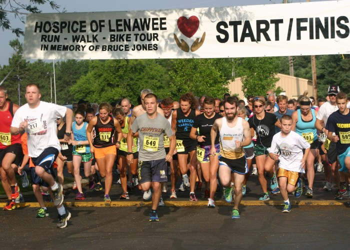 Bateson overall winner of Lenawee Hospice Run; Weeden top female runner
