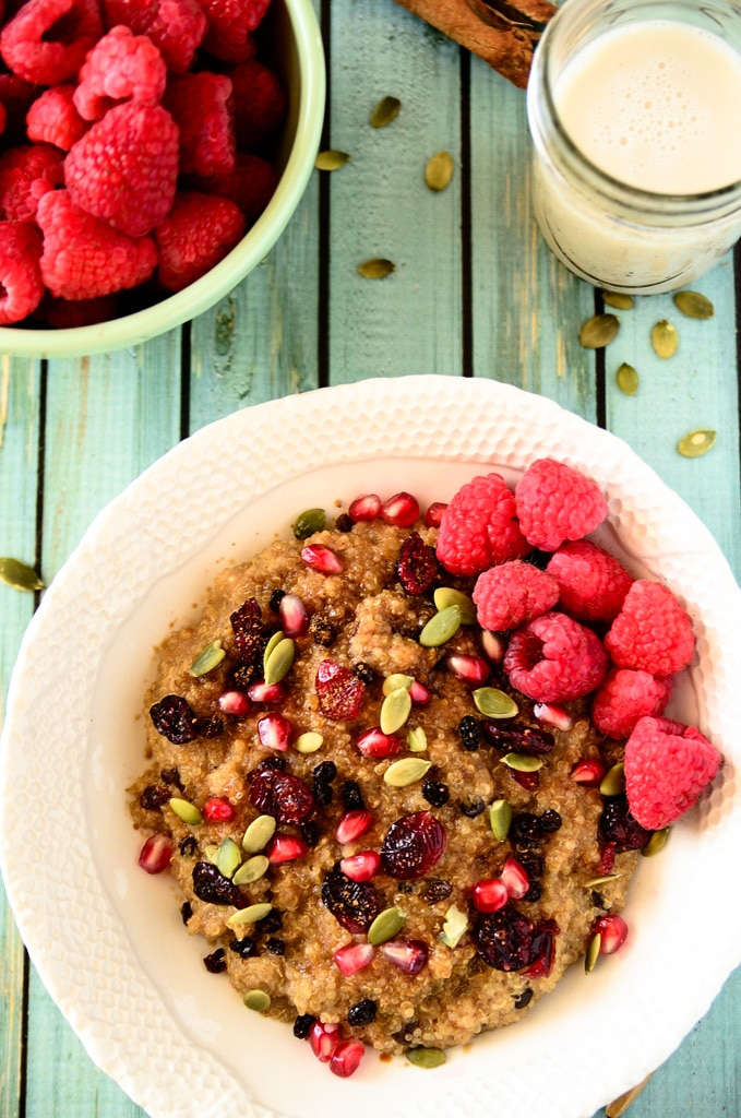 Image result for Cooked quinoa cereal ideas
