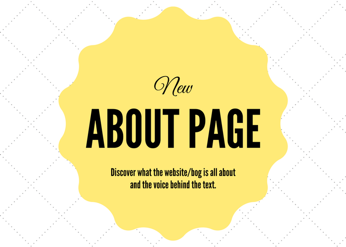 New About Page at blissfullemon.com