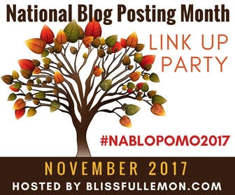 Blissfullemon NaBloPoMo Link Up Party