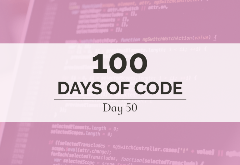 I can't believe I'm already halfway through my first round of coding. I'm so proud of myself for making it this far but I have no intention of slowing down now.