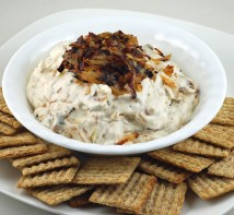 Pan Fried Onion Dip