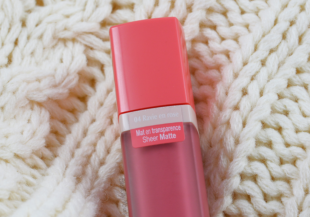 Souffle de Velvet Bourjois Ravie en Rose Blissfully Yours